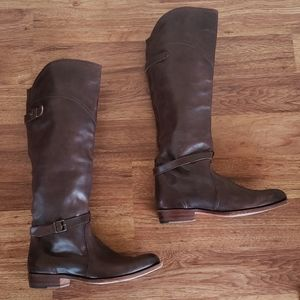 Frye Size 8 Brown Leather Boots